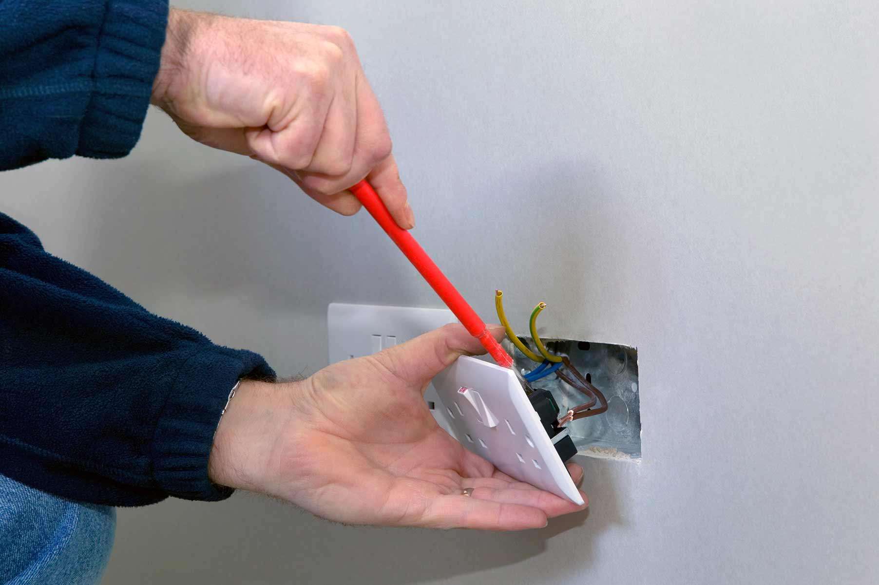 Our electricians can install plug sockets for domestic and commercial proeprties in Highbury and the local area.